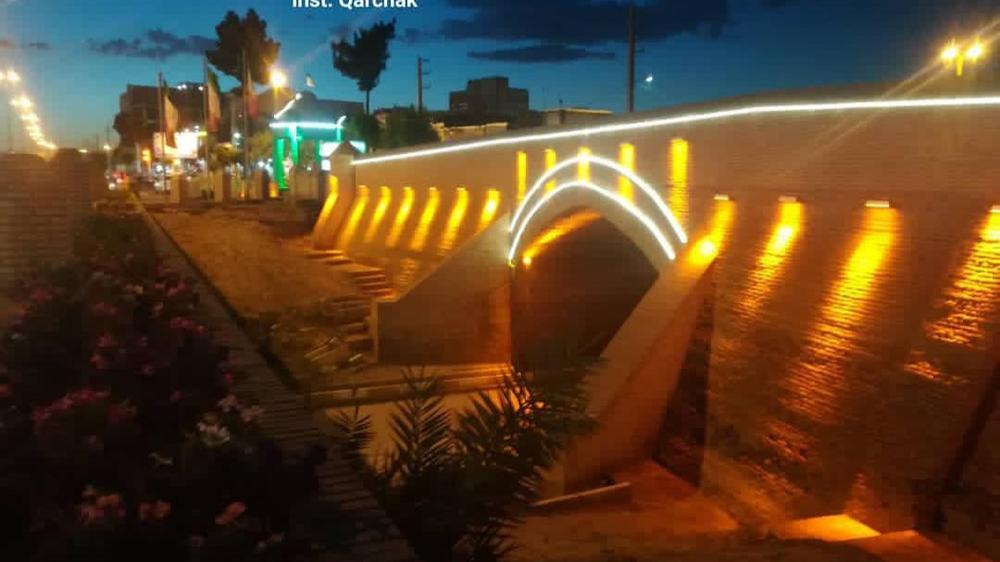 پل تاریخی ۱۵ خرداد باقرآباد