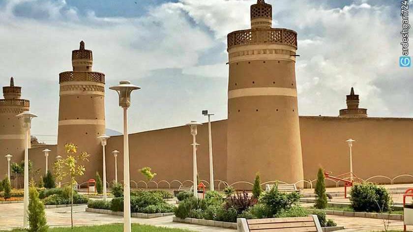 ارگ شیخ بهایی (هفت برج خارون)